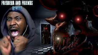 THIS IS WHY HE IS CALLED FOXY   Fredbear and Friends: Reboot Free Roam FNaF (Extended Demo)