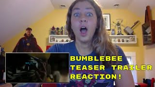 Bumblebee Movie (2018) Official Trailer REACTION | Transformers