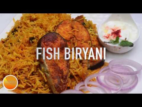 Fish Biryani  -  மீன் பிரியாணி - Tamil Nadu Style