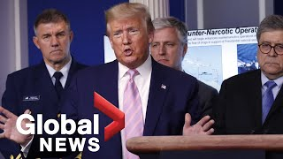 Coronavirus outbreak: Trump says America continues to 'wage all-out war' against virus | FULL