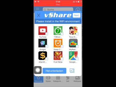 How to get any app free without jailbreak Ios 8.41 Vshare