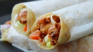 AMAZING PERI-PERI CHICKEN PARATHA ROLL by (YES I CAN COOK) FIRST TIME IN YOUTUBE #ParathaRoll