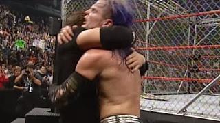 Edge & Christian vs. The Hardy Boyz - WWE Tag Team Championship Steel Cage Match: Unforgiven 2000