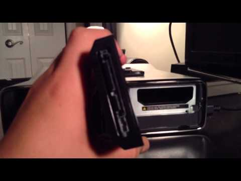 How to remove/insert Xbox 360 Slim hard drive