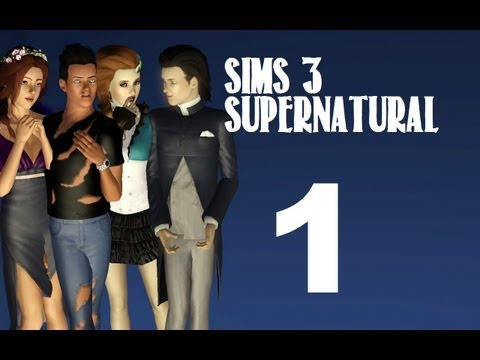 Let's Play: The Sims 3 Supernatural - (Part 1) -Welcome to Moonlight Falls w/Commentary