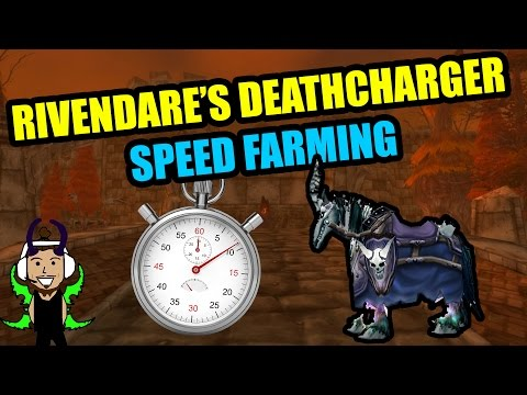 Rivendare's Deathcharger WoW Mount Speed Farming Guide