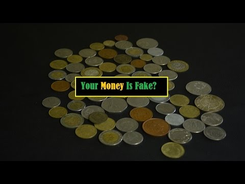 How to know if your MOney are fake | best idea