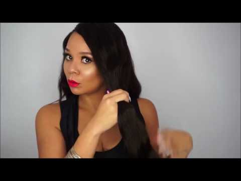 HOW TO PROPERLY STRAIGHTEN INDIAN WAVY HAIR | HAIR ARE US