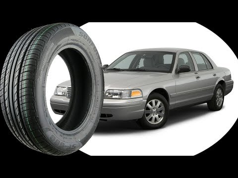 Original Tire Size for all FORD CROWN VICTORIA 1998-2011