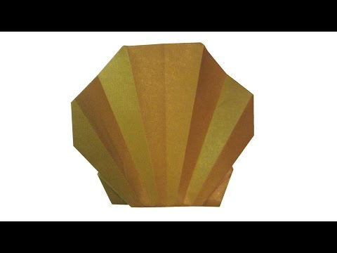 How To Make Origami Shell