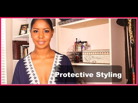 My Mini Guide To Protective Styling 💝 Natural Hair 💝