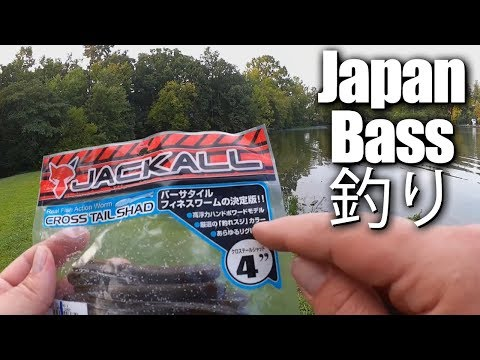 Foreign Lure Fishing Challenge - Bass Fishing with JAPANESE Lures