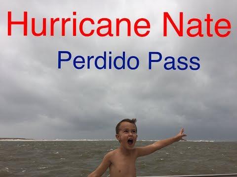 Hurricane Nate: Perdido Pass