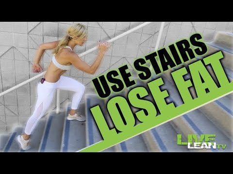 3 Ways to Use the Stairs to LOSE FAT