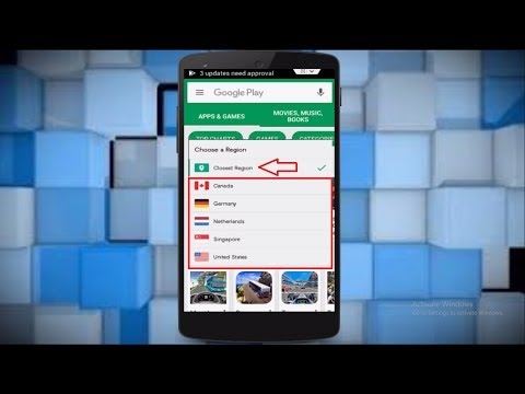 How to Change Country in Google Play Store Amazing Trick