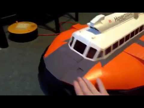 1/12 SNR6 RC hovercraft