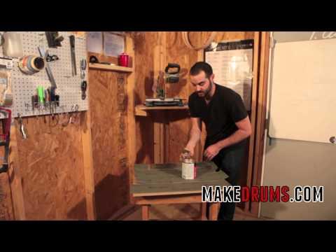 DIY Custom Drum Building - How to Build a Sanding Table