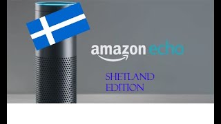 Amazon Echo Shetland Edition