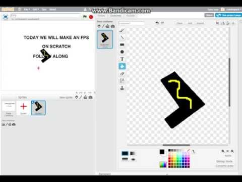 How To Make An FPS On Scratch  Part 1