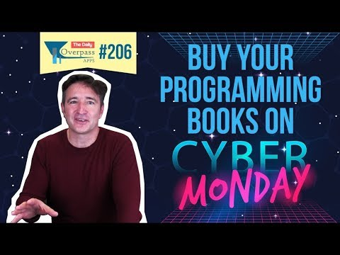 Buy Your Programming Books on Cyber-Monday