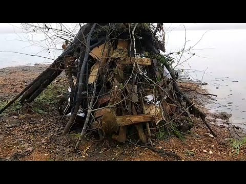 How to Start a Bonfire With Wet Wood.