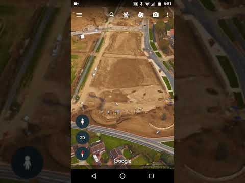 Mobile Google Maps Aerial 2D versus Google Earth 3D differences for intelligence gathering