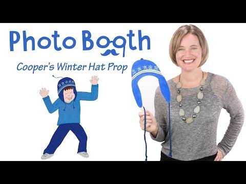 Photo Booth Prop | Make a Winter Hat | DIY Kids' Craft