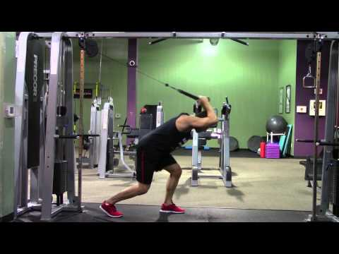 Gym Machine Workout - HASfit Weight Machine Workouts - Cable Machine Exercises