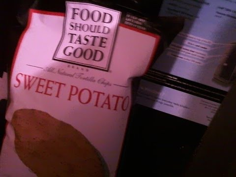 Product Review: Food Should Taste Good (Brand) Sweet Potato tortilla chips