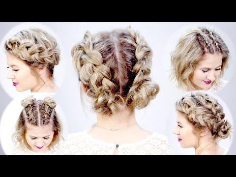 5 DOUBLE DUTCH BRAIDED HAIRSTYLES FOR SHORT HAIR | Milabu