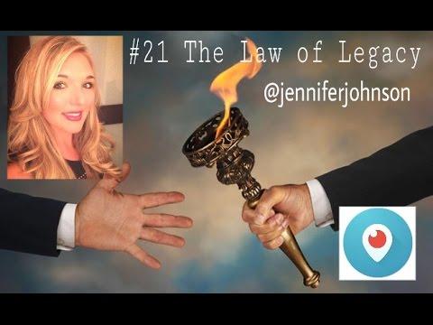 John C Maxwell #21 The Law Of Legacy