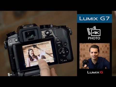 How to use the new 4K Photo modes on the LUMIX G7   Tutorial