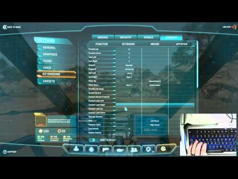 Planetside 2: ESF PILOT WEEK 1 RECAP | Part 1: Controls