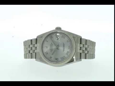 Rolex Oyster Perpetual Datejust Mens Watch 116234 (2002)