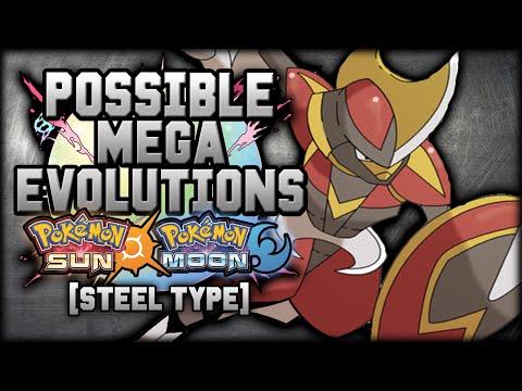 New Mega Evolutions In Pokemon Sun And Moon [Steel Types]