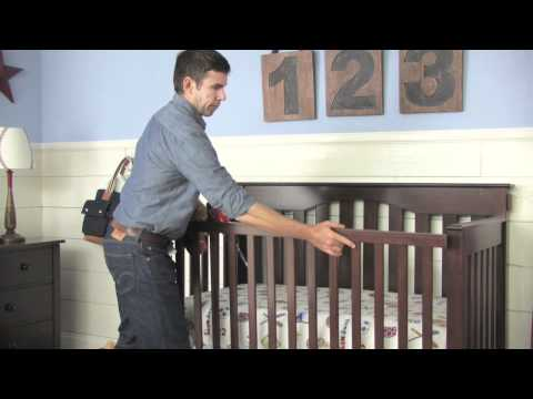 How to Convert a Kendall Crib into a Toddler Bed | Pottery Barn Kids