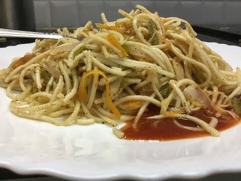 Veg noddles/வெஜ் நூடுல்ஸ் /How to make noodles/tamil recipe/Indian style noodles recipe