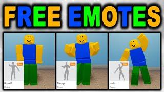 New Roblox Emotes Free - Channel Sharkblox