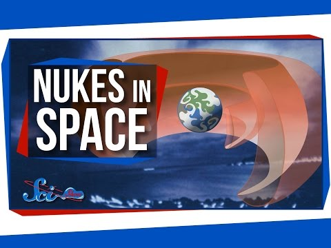 The Unexpected Effects of Nukes in Space