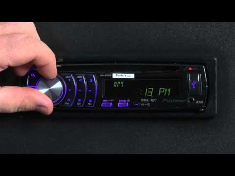 FAQ - DEH-6300UB- Clock Settings