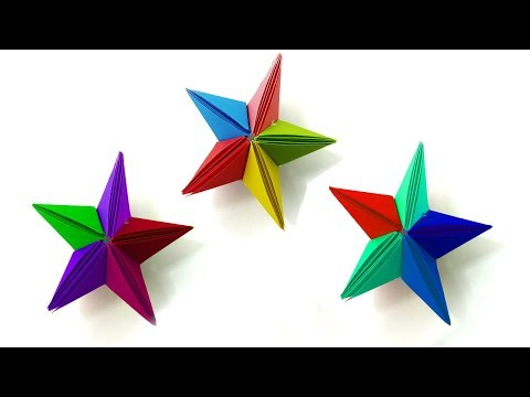 Origami Star Clear Instructions | How To Make Paper Stars Easy Techniques - Diy Paper Crafts