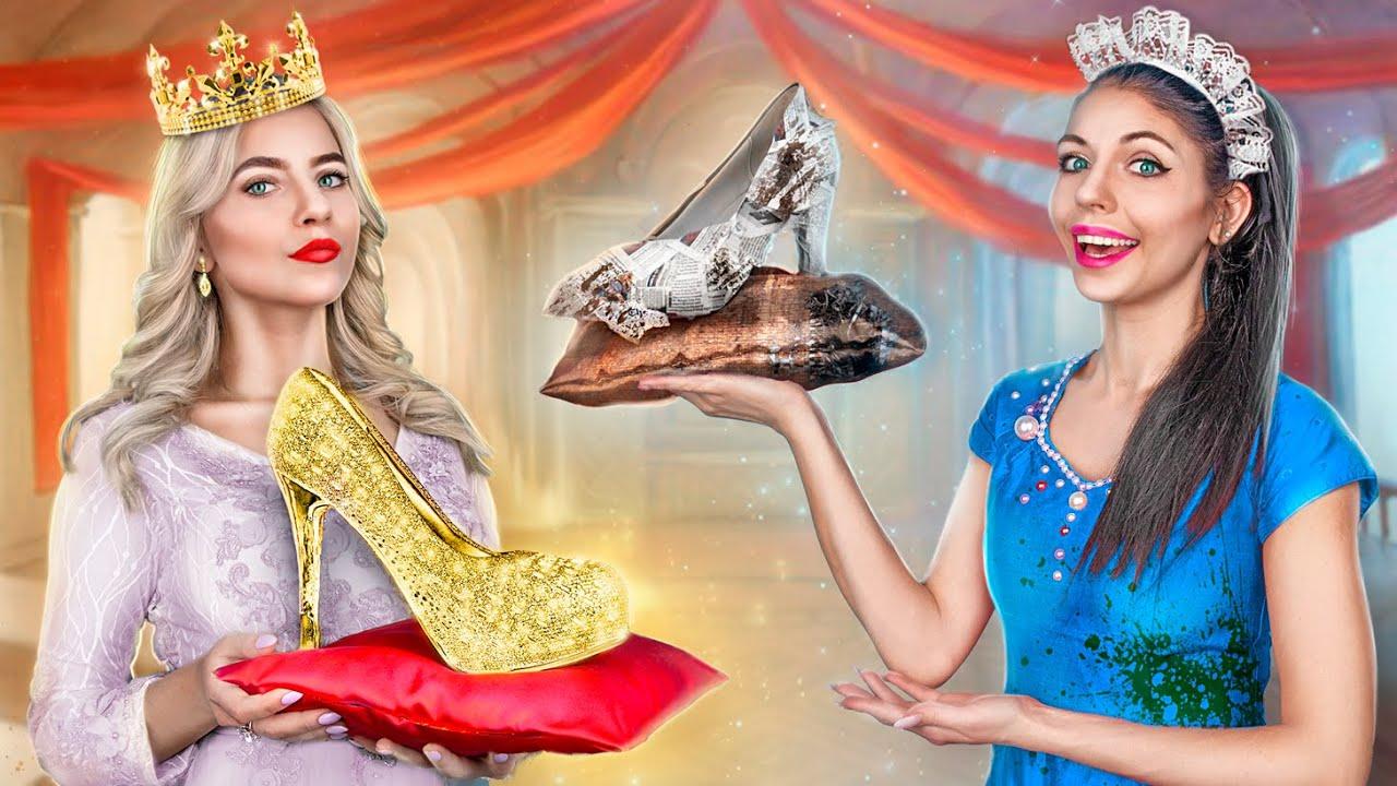 Rich Princess vs Broke Princess