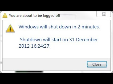 How to shutdown pc using timer in notepad