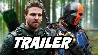 Arrow 5x23 Promo - Deathstroke Prometheus Finale Battle