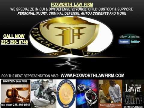 baton rouge louisiana attorney divorce personal injury criminal defense dui felony homicide juvenile