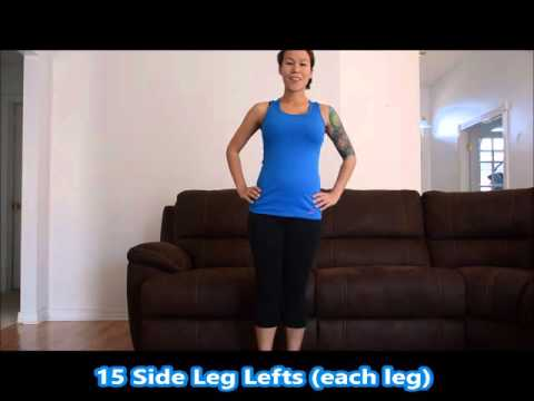2nd Trimester Full Body Home Workout