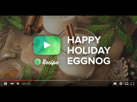 VitaCup Holiday Eggnog Latte