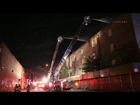 FDNY BOX 3842: 2-Alarm Fire Tears Through Red Hook Factory