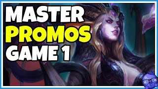 MASTER PROMOS EUW - Game 1 - Zyra Support Gameplay