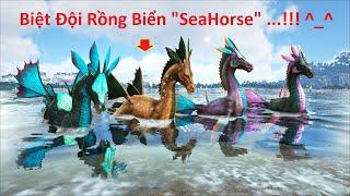 """ARK: Crystal Isles #01 - Khởi Đầu Lại Seri Mới, Mình Bắt Được Cả Biệt Đội """"Rồng Biển"""" SeaHorse"""